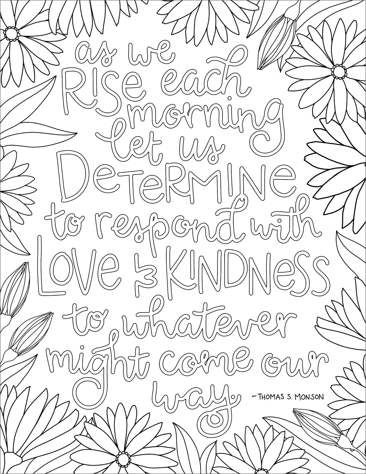 just what i {squeeze} in: Respond with Love & Kindness