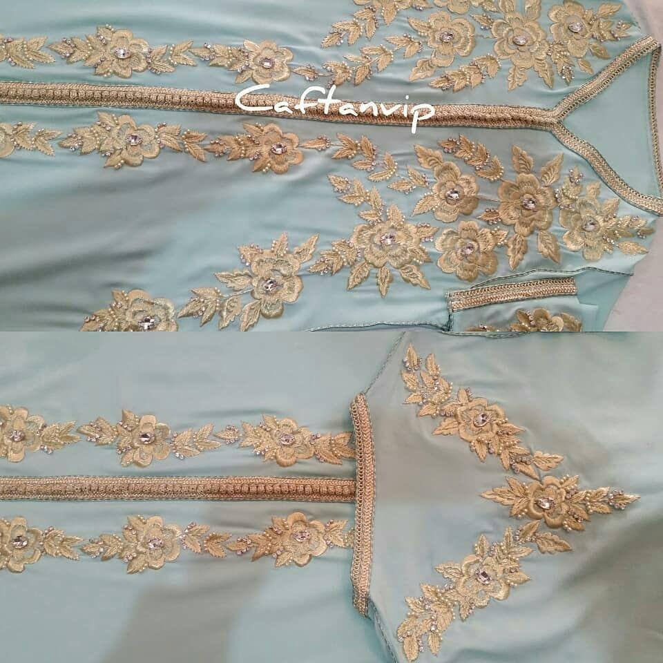 قفطان كشخة عبايات مغربيات On Instagram قفطان زبونتي من السعودية ماشاء الله تم شحنه اليوم Caftan Kaftan Traditional Outfits