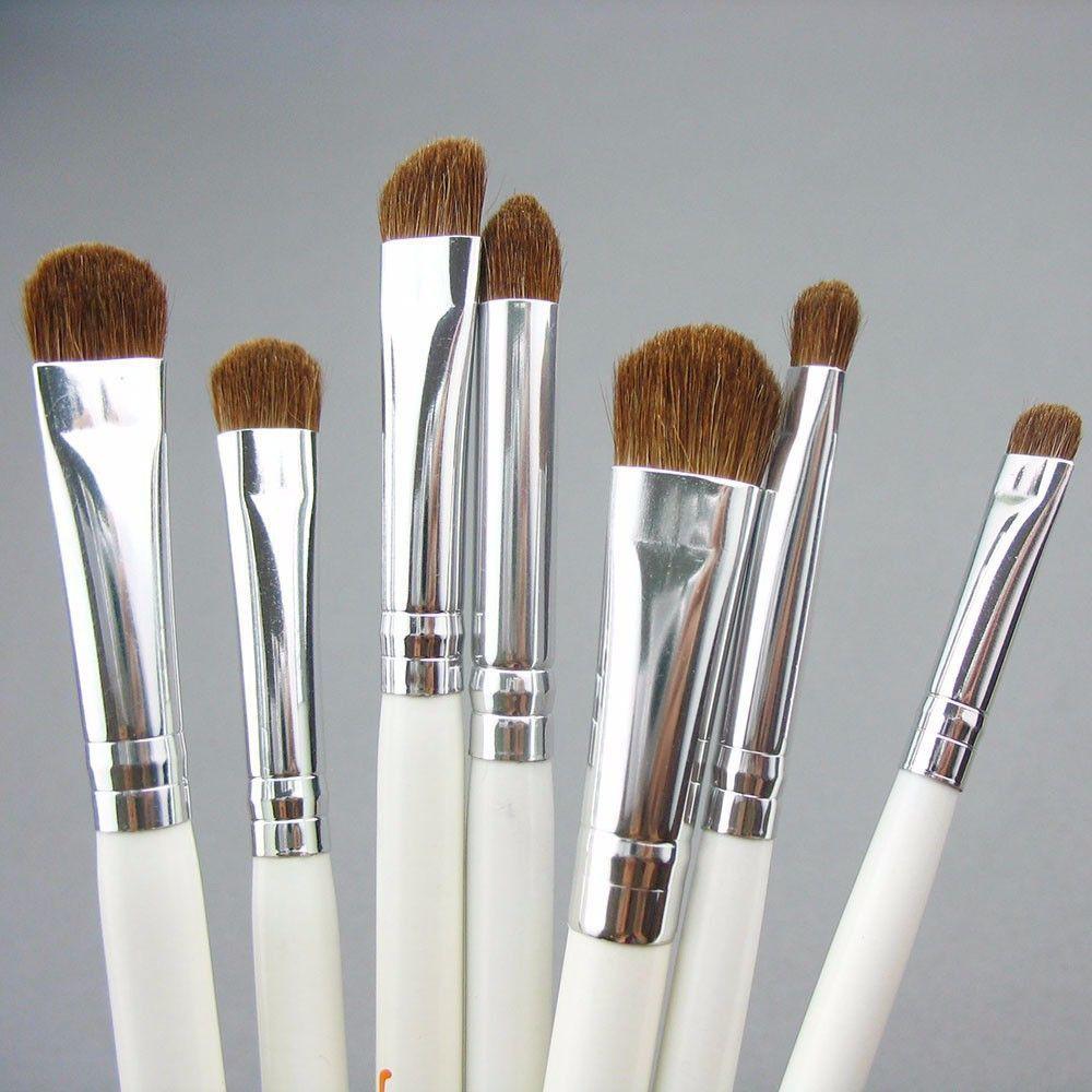 Natural Hair Eye Makeup Brushes Set Professional Eyeshadow