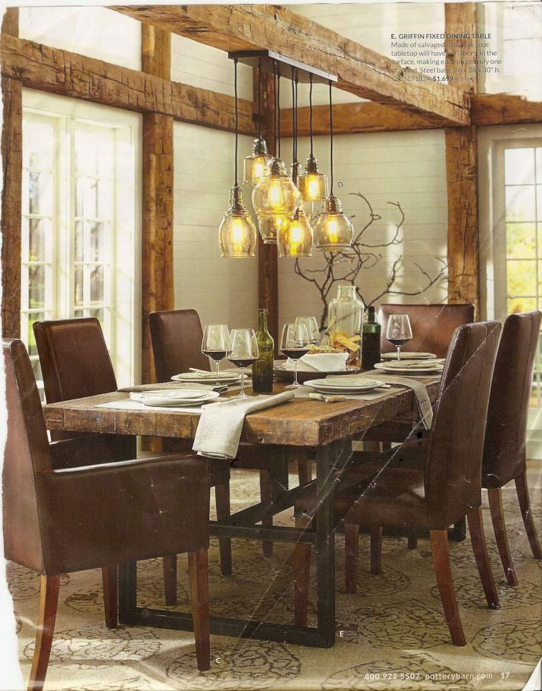 Top 28 Rustic Lighting Design Ideas For Awesome Dining