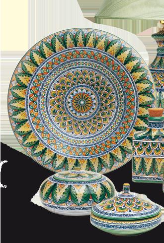 Ceramiche Miriam Deruta I LOVE this!!!! Best portrait plates ever ...
