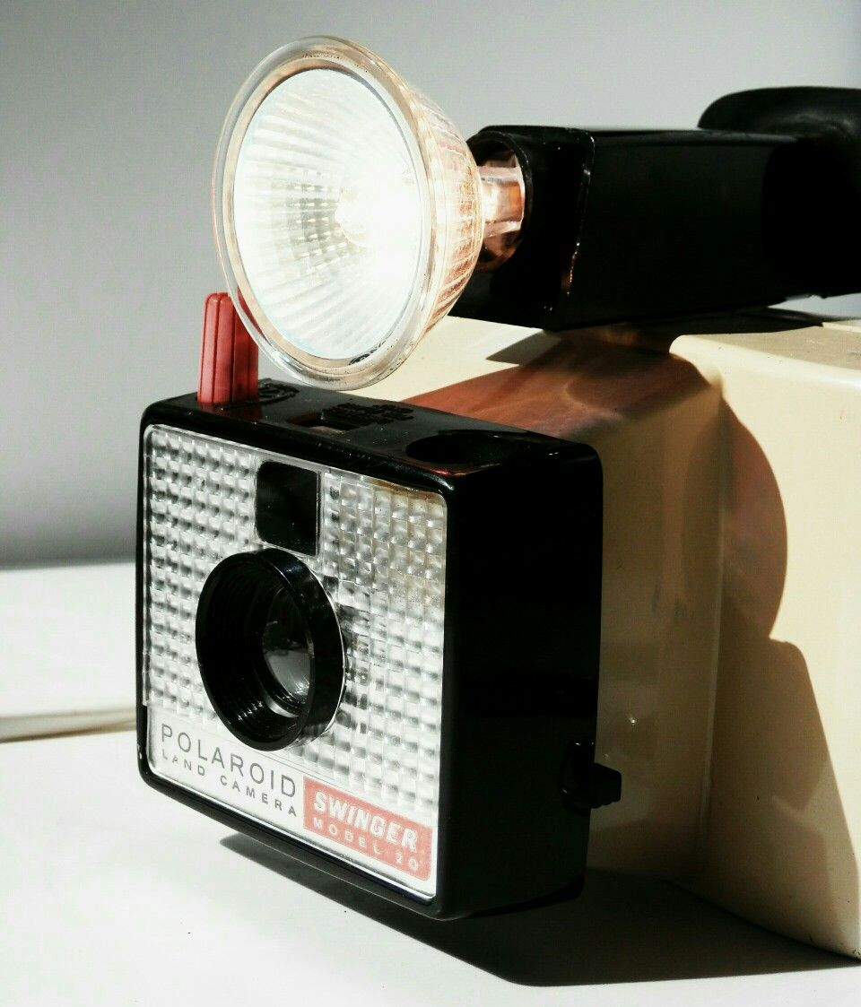 Polaroid Instant Camera Lamp With 12v Halogen Bulb Camera Lamp Lamp Polaroid Instant Camera