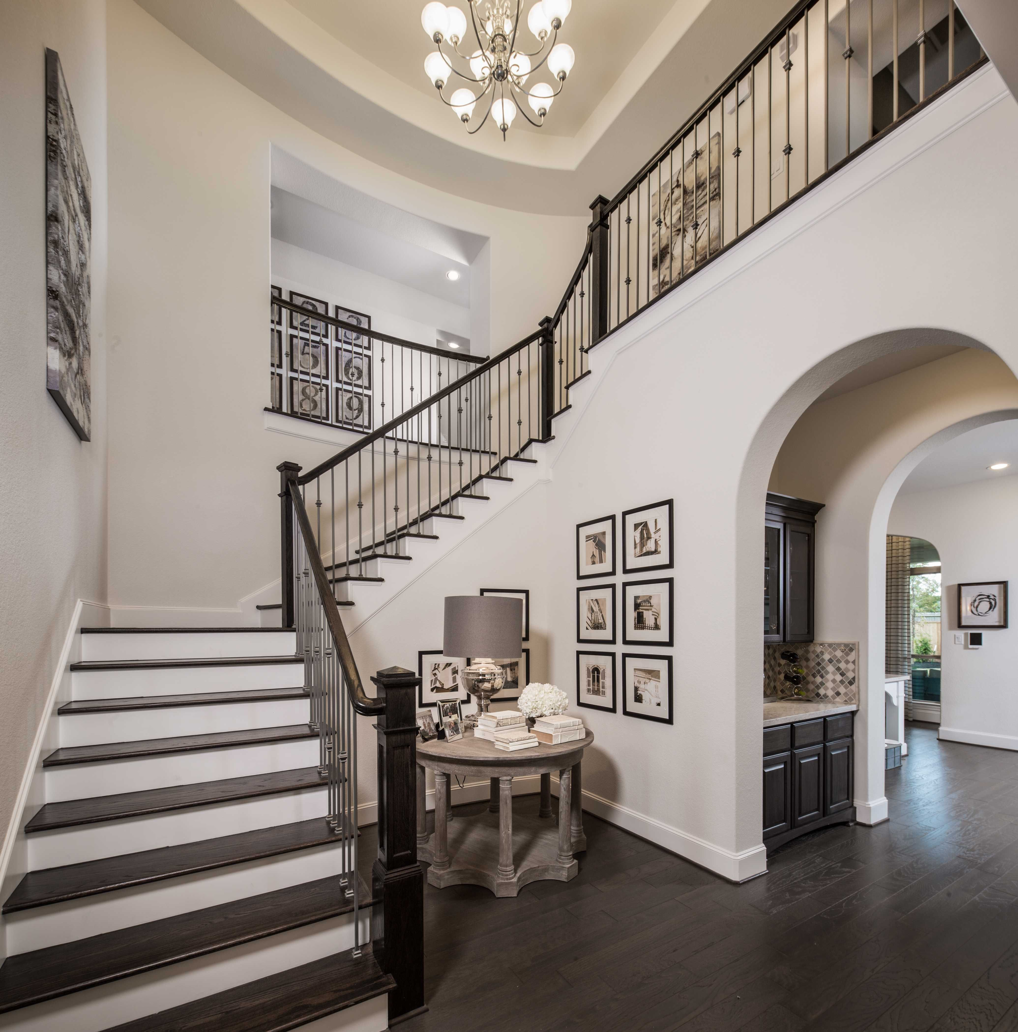 Model Homes Decorating: Highland Homes Plan 617 Model Home In Houston Texas