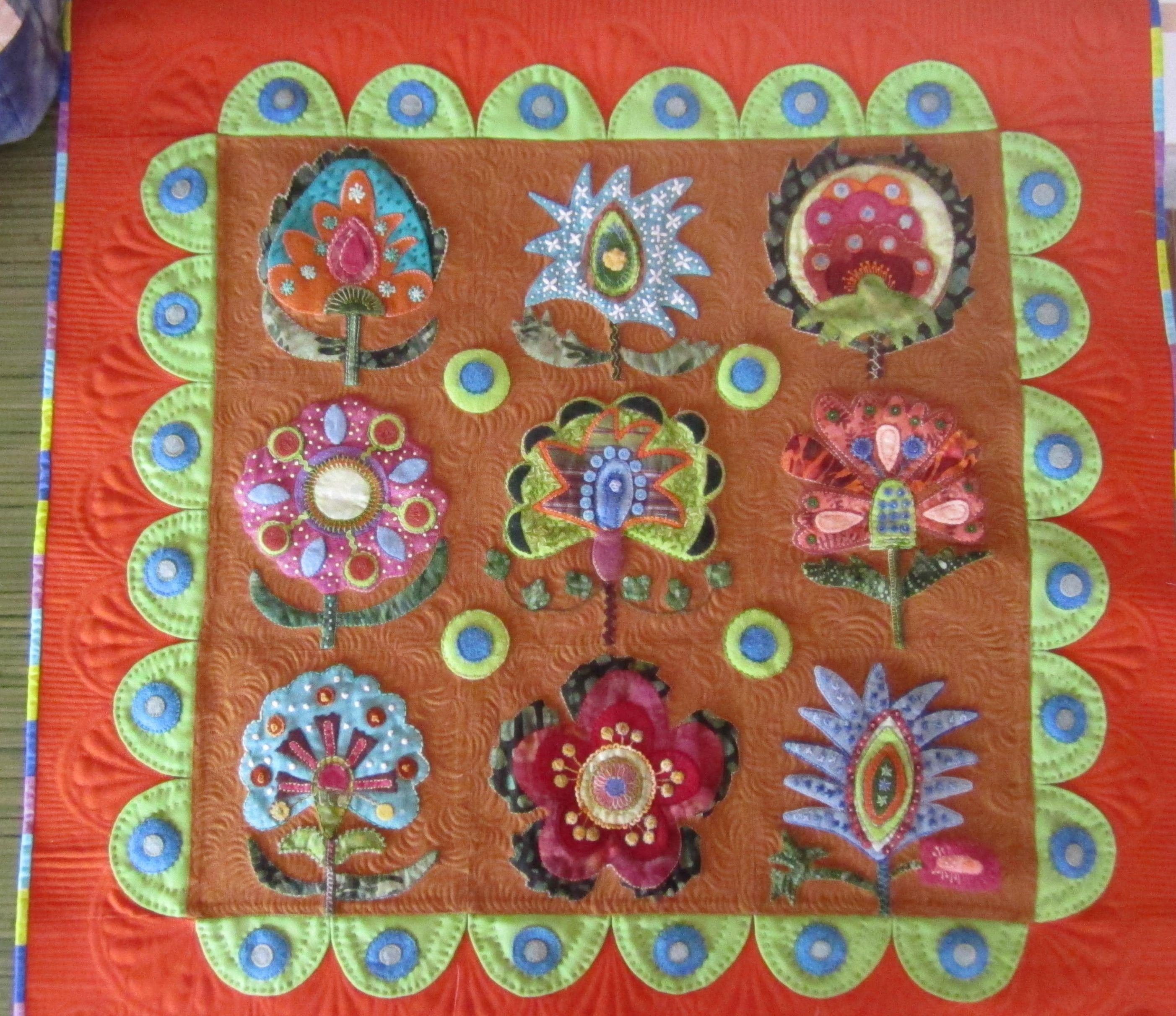 Blossom nello stile di Sue Spargo