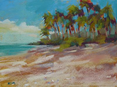 How To Paint Sand With Pastels Painting By Karen Margulis Psa Painting Art Pastel Landscape