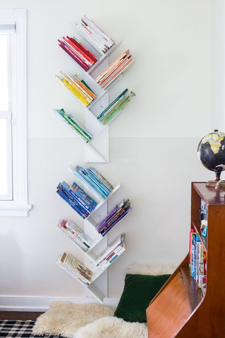Creative Diy Bookshelf Ideas Plans Tutorials Ohmeohmy Blog