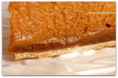 Dulce de Leche Pumpkin Toffee Pie