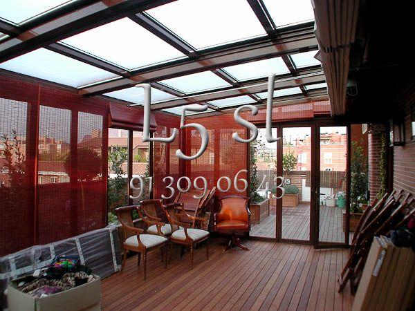 Fabricante de techos moviles para cubrir terrazas de bares - Cubrir terraza barato ...