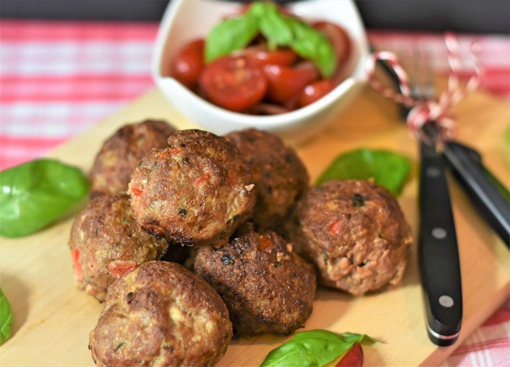 Photo of Red lentil meatballs / vegan patties made from red lentils