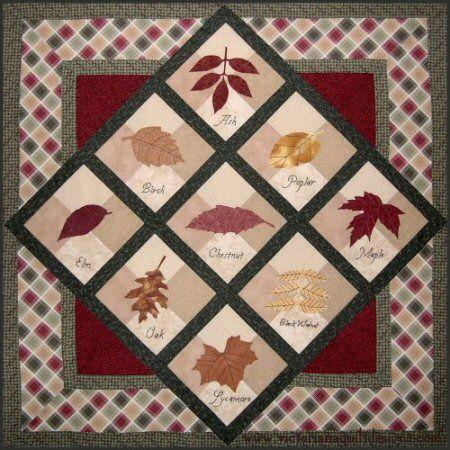 Autumn Jewels Quilt Pattern http://www.victorianaquiltdesigns.com/VictorianaQuilters/PatternPage/AutumnJewels/AutumnJewels.htm #quilting