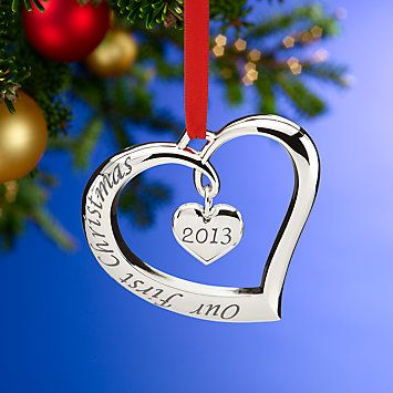 2013 Our First Christmas Together Ornament by Lenox - 2013 Our First Christmas Together Ornament By Lenox Christmas