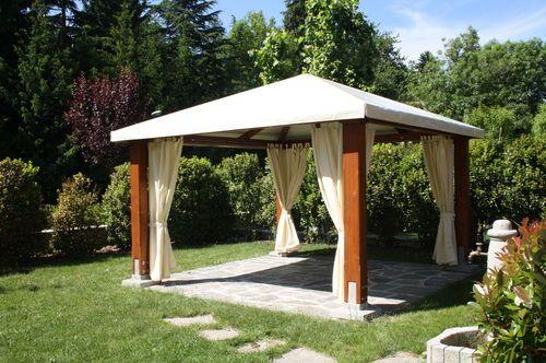 Gazebo / Kiosque / Jardin / Bois | Garden | Kiosque jardin, Gazebo ...