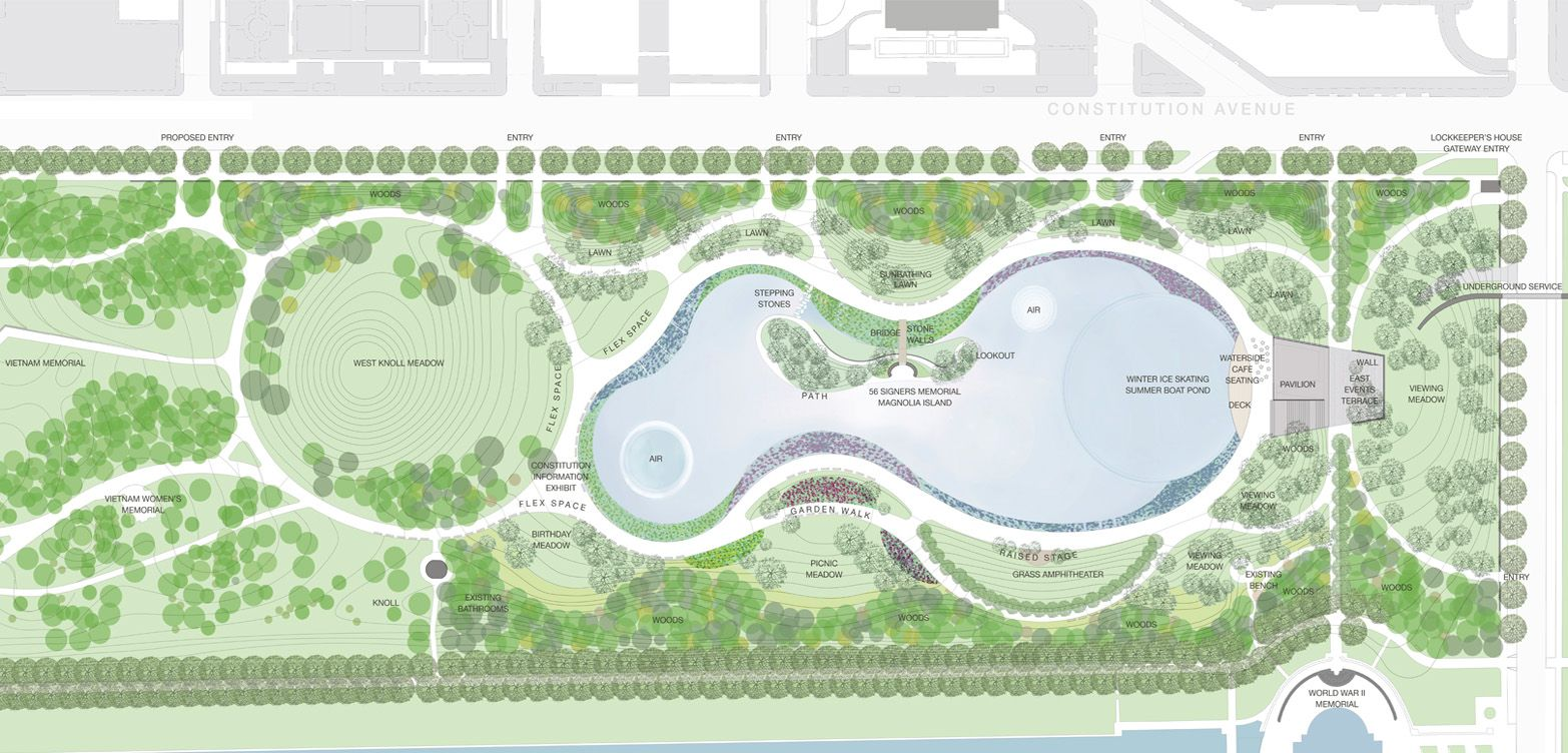 PWP Landscape Architecture pond marsh edges LandscapeDesign