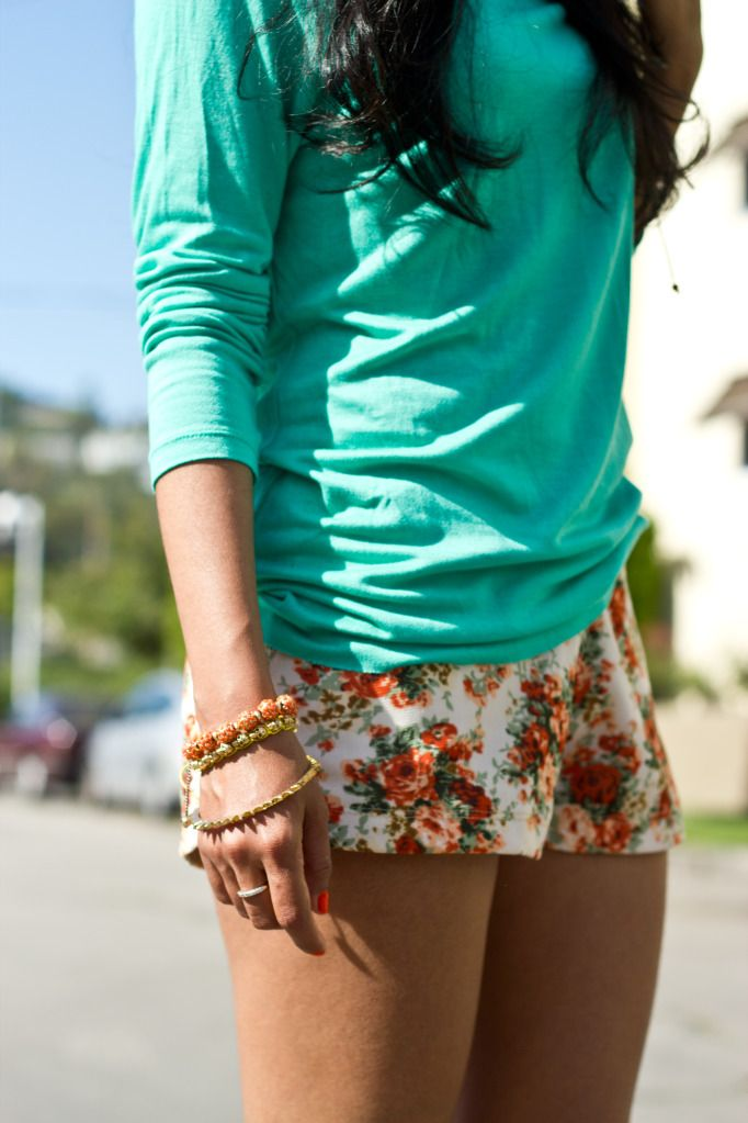 Printed shorts please!