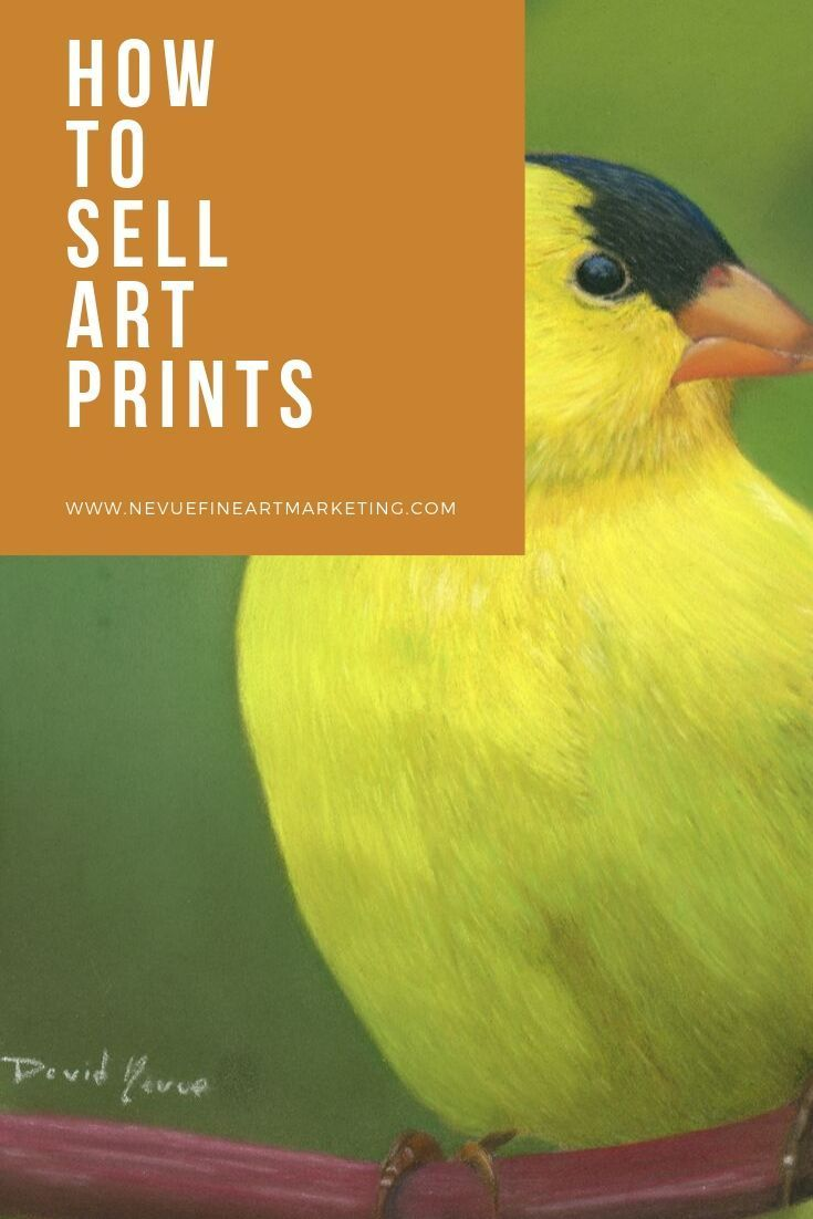 How to sell art prints online and make money selling art
