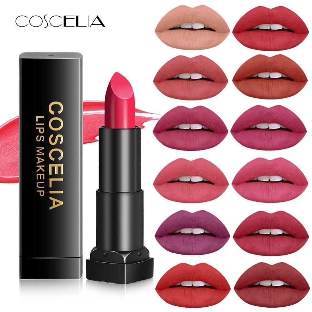 Waterproof Velvet Liquid Lipstick Sexy Red Lip Tint 13