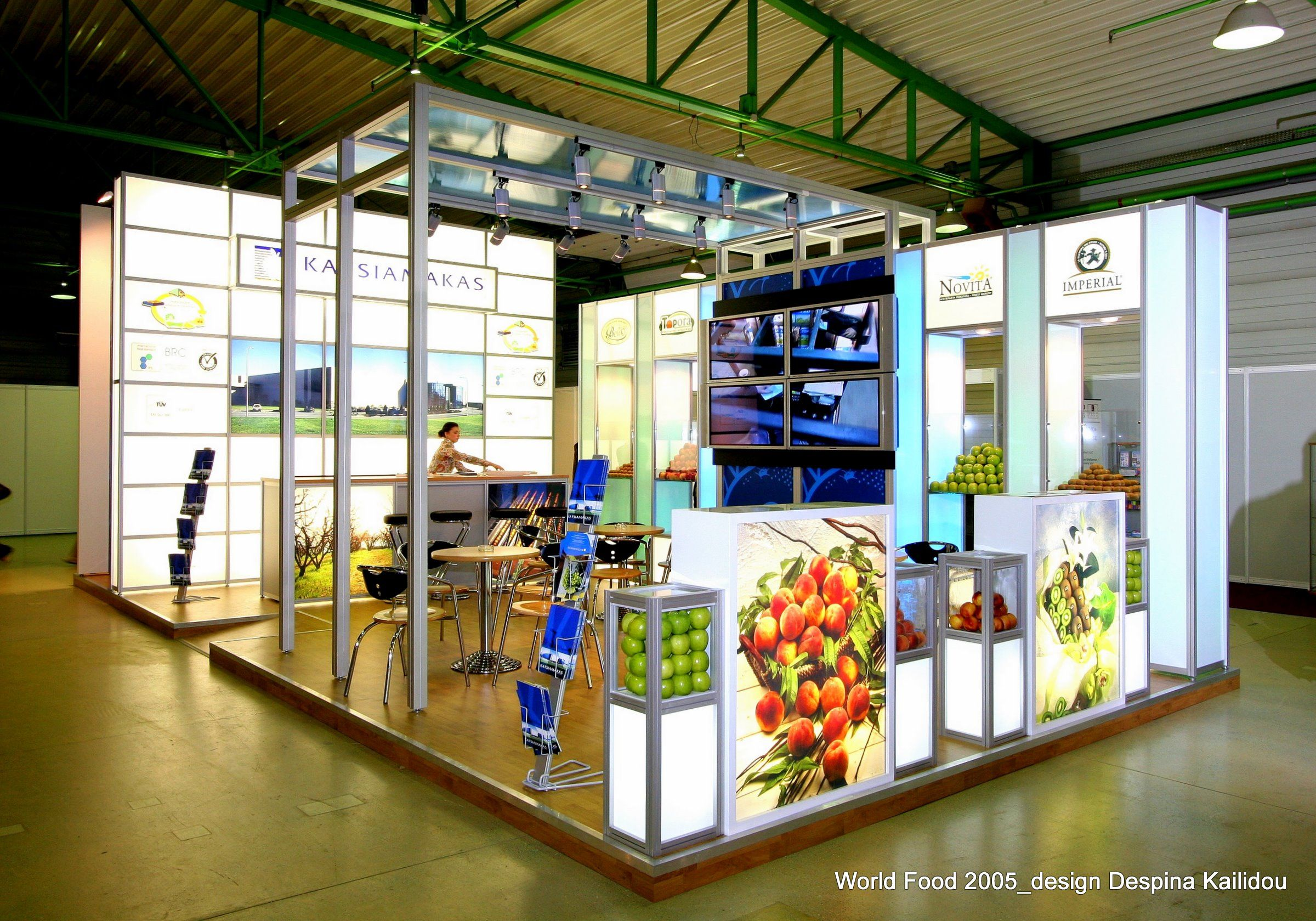 Exhibition Stand Russia : Exhibition stand katsiamakas sa at world food