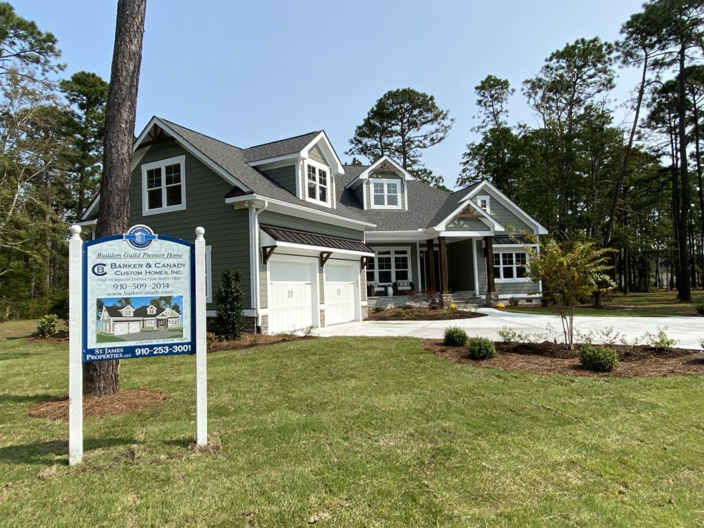The Berkshire Cottage Under Contract Barker Canady Cottage Model Homes House Styles