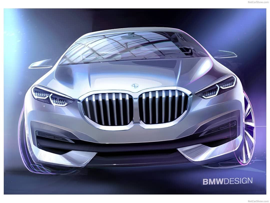 "Sketch Storm on Instagram: ""BMW1-Series(2020) Official sketches by Sebastian Simm @sebastiansimm #bmw #bmw1 #bmw1er #bimmer #cardesign"""