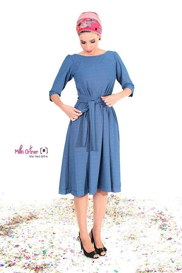e5f2091b1440 dress and turban by TAMAR LANDAU | Fashion | Moda, Estilo