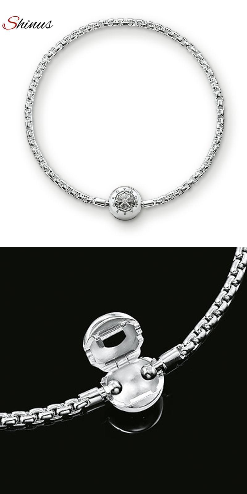 Visit to buy shinus men strand bracelets women jewelry femme bijoux