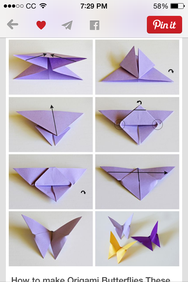 Origami Fox The Instructions Arent In English But The Diagram Is
