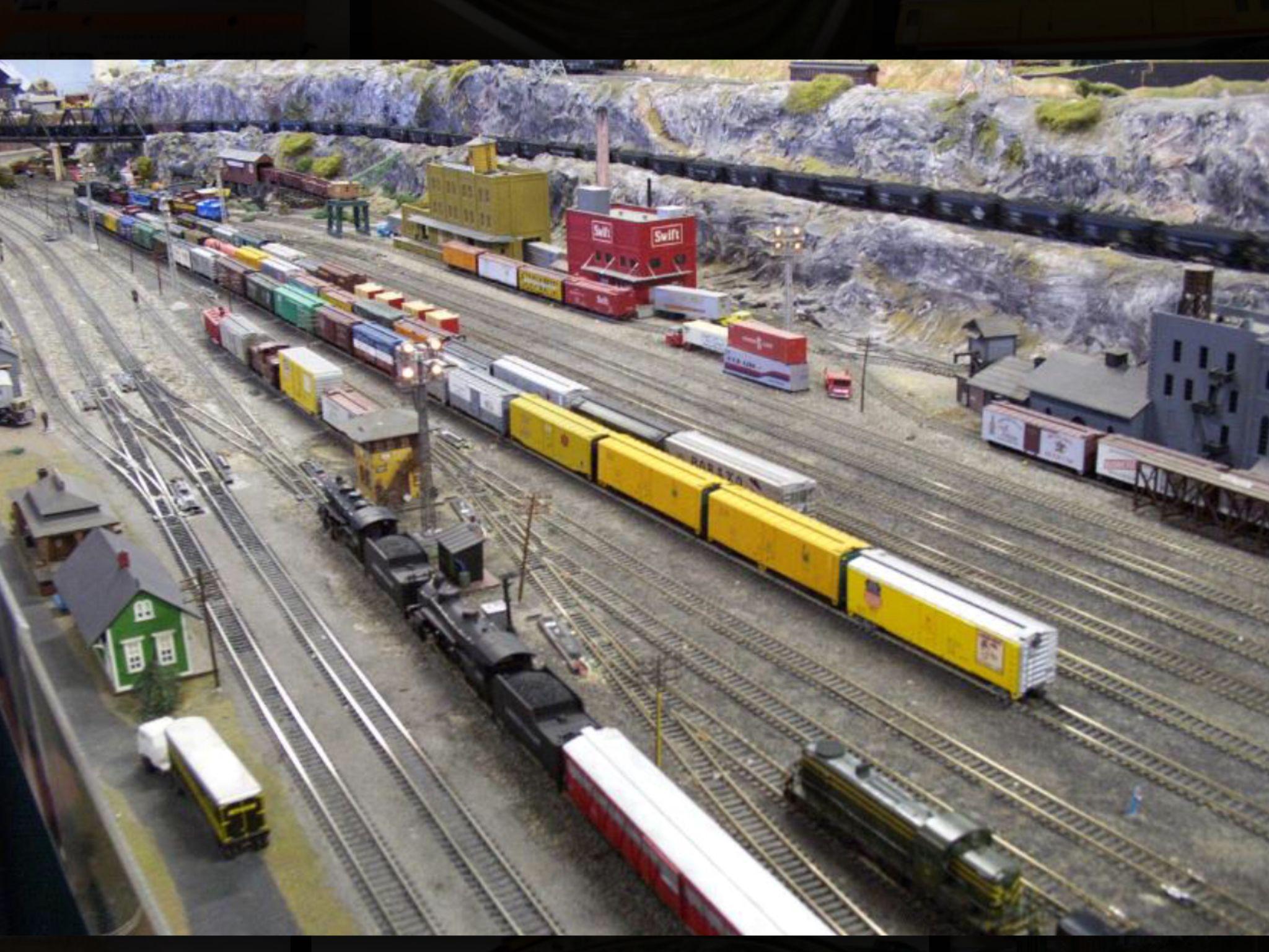 Ferrocarril tren con raíles juguetes en miniatura accesorios muñecas Tube casa de muñecas