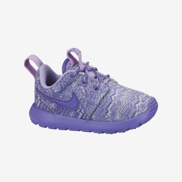 Nike Roshe Run Print (10.5c-3y) Preschool Girls' Shoe