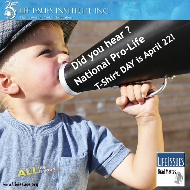 Celebrate the importance of pro-life with us --> lifeissues.org