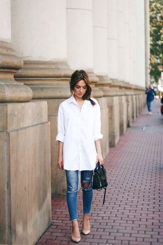 c2d1e210301 ALIXROSE  4 Ways to Wear Your Classic White Shirt This Summer ...