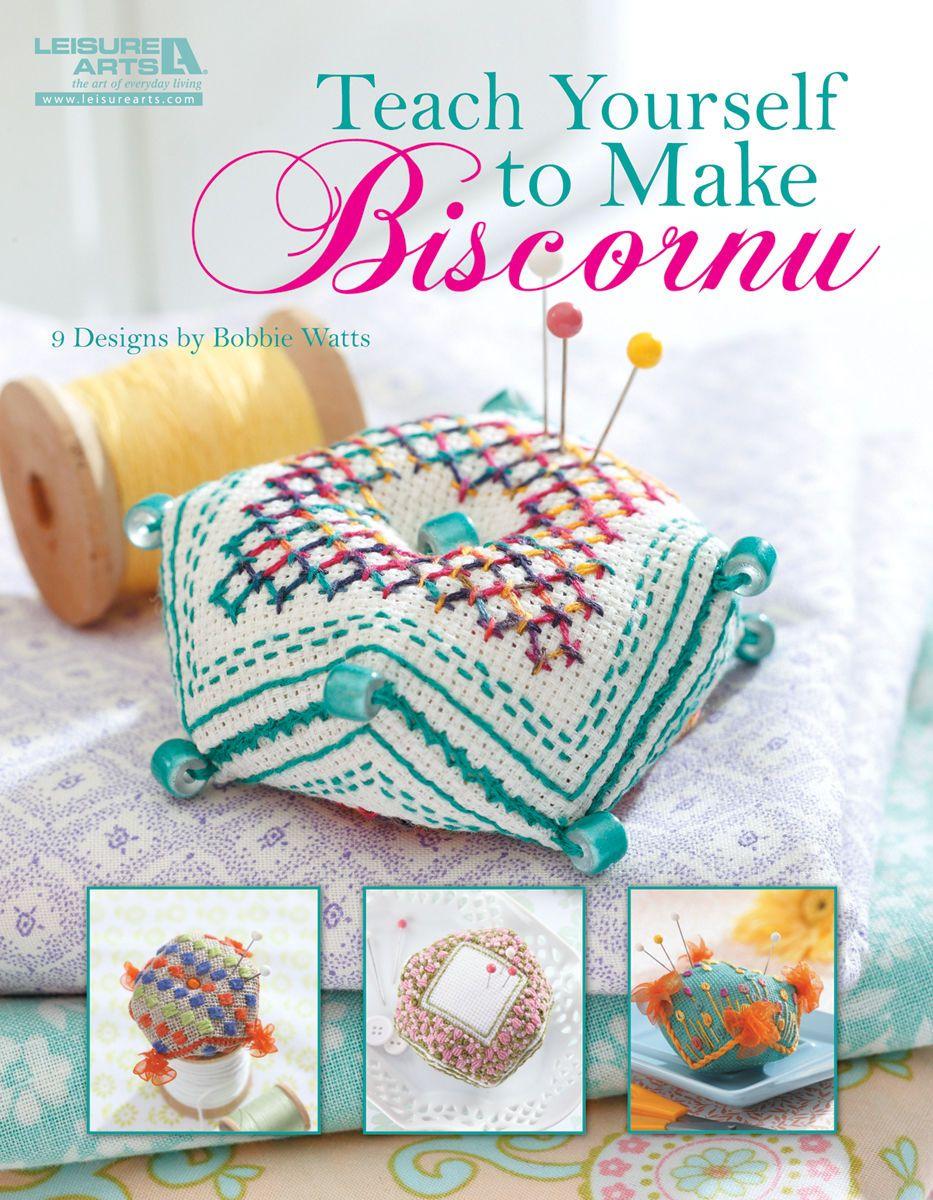 Teach yourself to make biscornus stitch cross stitch and embroidery teach yourself to make biscornus solutioingenieria Choice Image