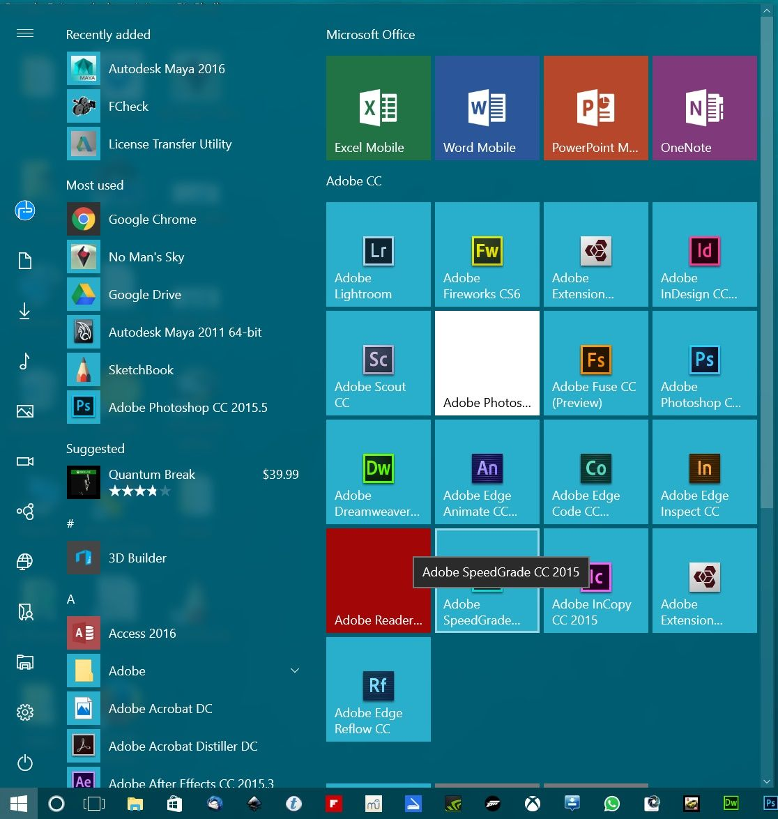 Customize Windows 10 Start Menu To Resemble Windows 7 With Images