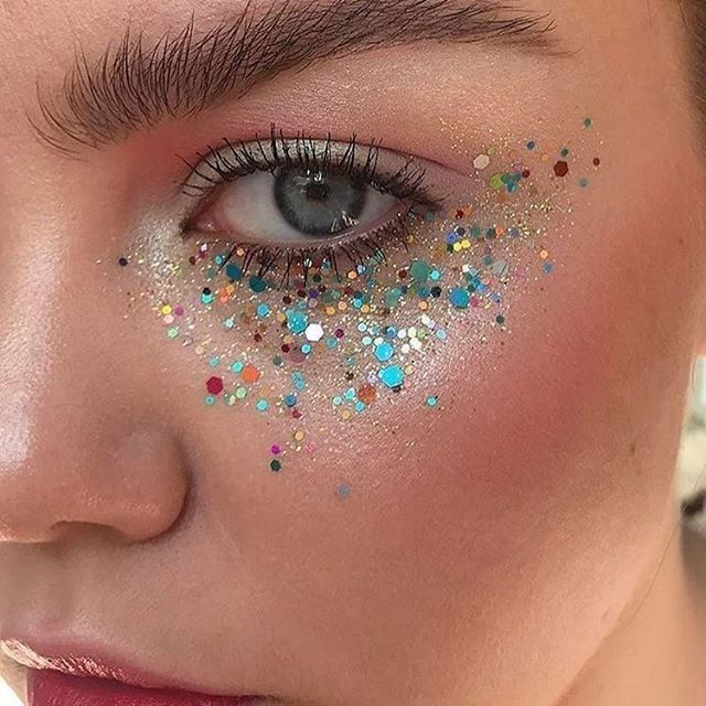 Makeup, Beauty, Hair & Skin | These 44 Festival Makeup Ideas Are All the Inspo You'll Need For the Weekend