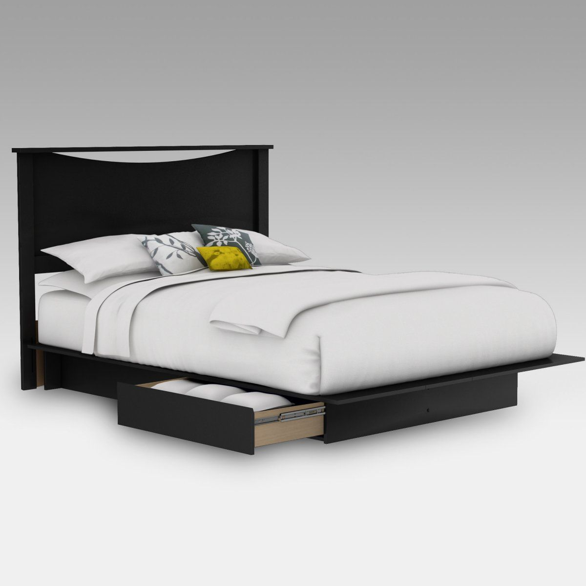 Step One Platform Bed Ikea Bed Frames Bed Frame With Drawers