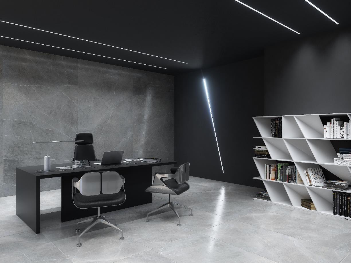 led lighting for modern office