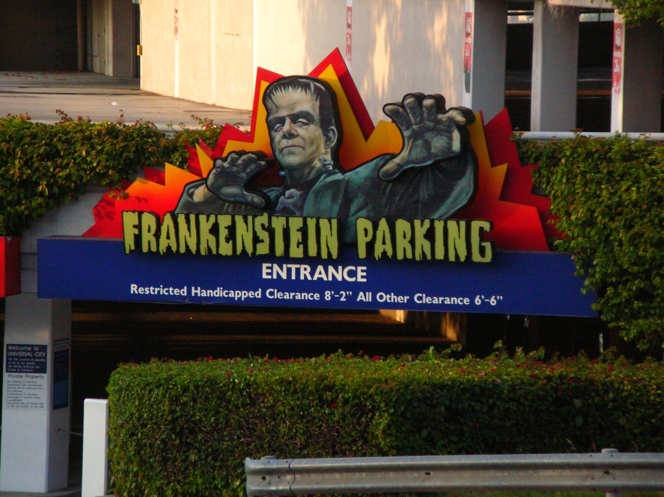 Kostenloser Parkservice