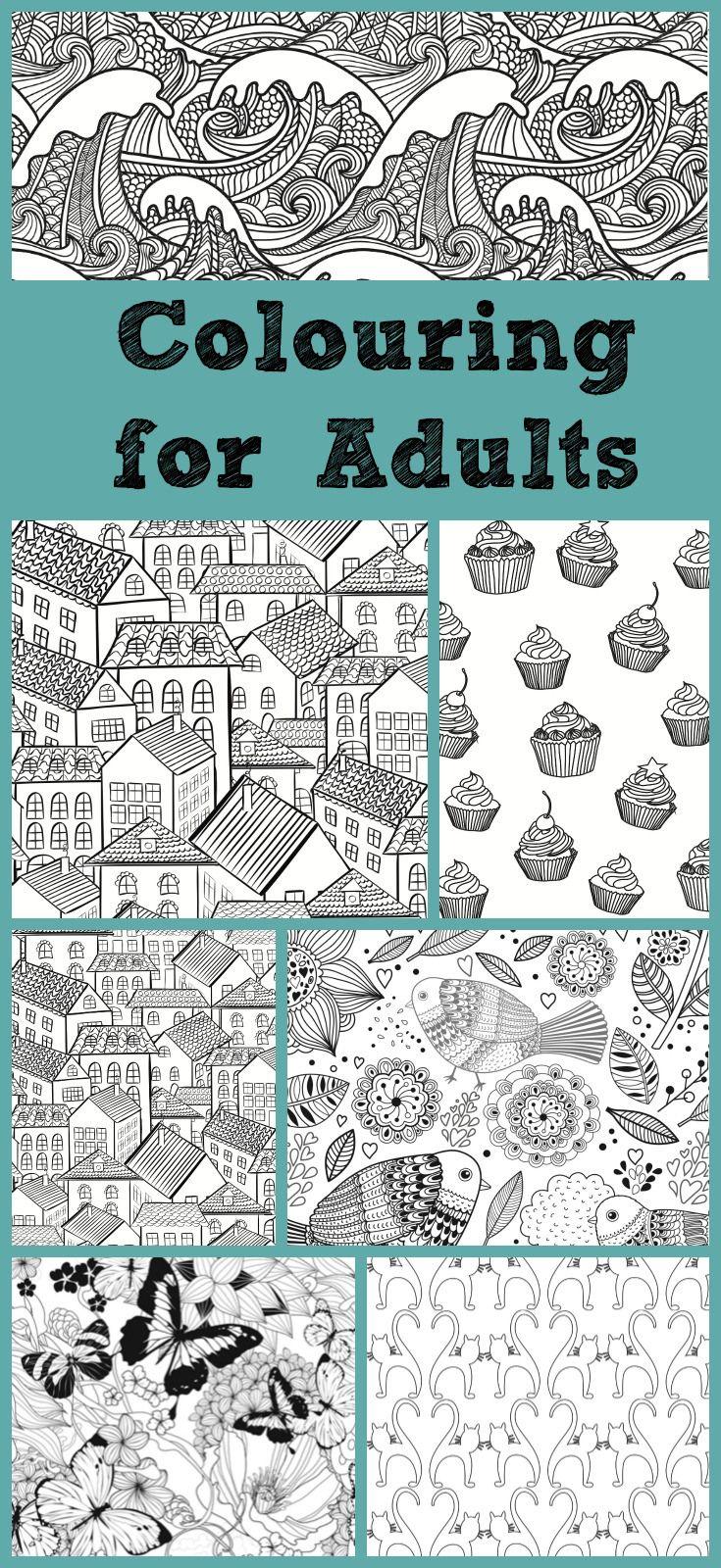 Colouring Books for Adults | Estrés