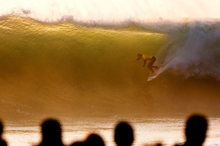 ASP World Tour Surfing   -    Golden hour ~   2014 Moche ‪#‎RipCurlPro‬ Portugal
