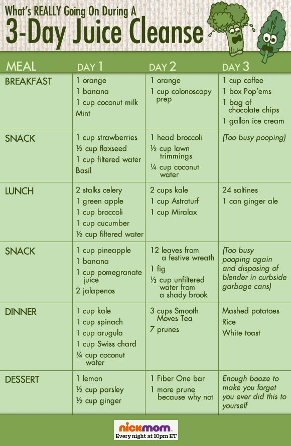 39 day cleanse and diet