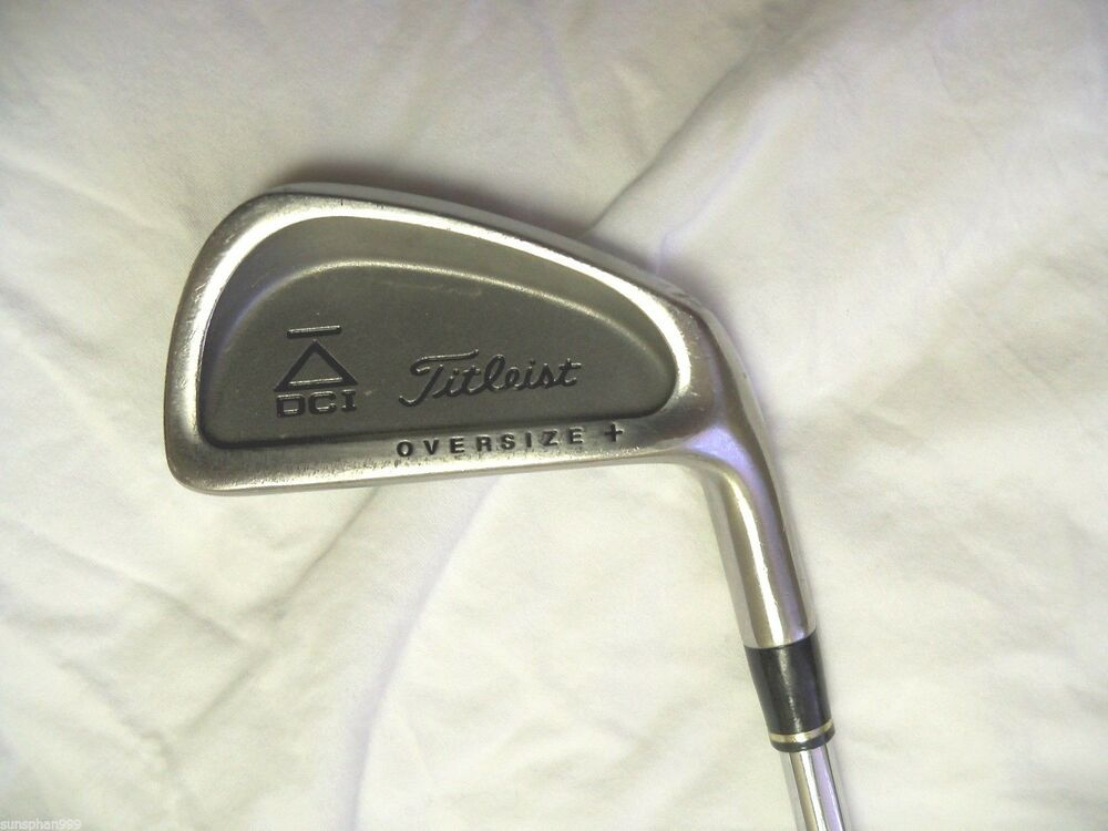 Titleist DCI Black Oversize + 3 Iron Tri Spec steel stiff