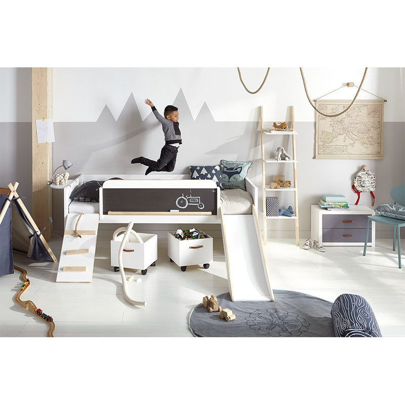 Photo of Lifetime play bed PLAY, LEARN AND SLEEP painted white 20174-10