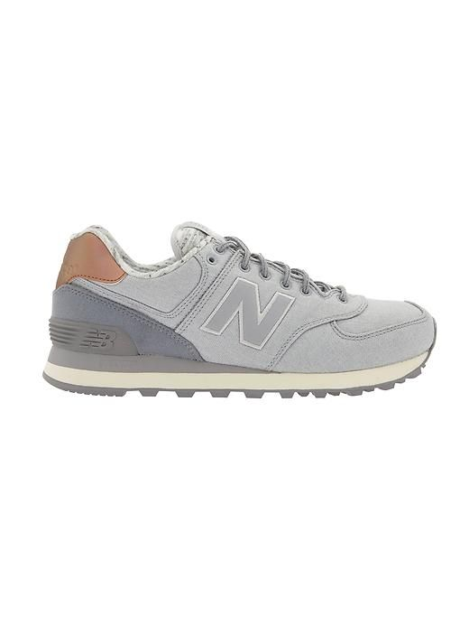 women's new balance 574 heathered casual shoes nz