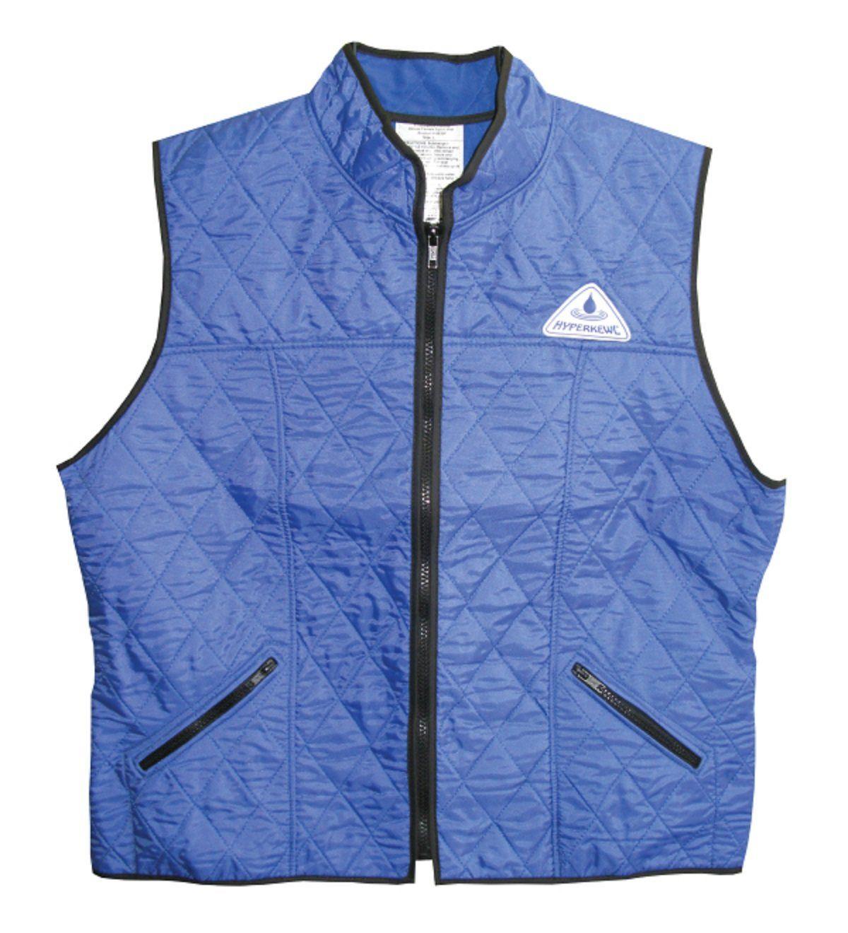 Hyperkewl Evaporative Cooling Female Deluxe Sport Vest Xs Blue