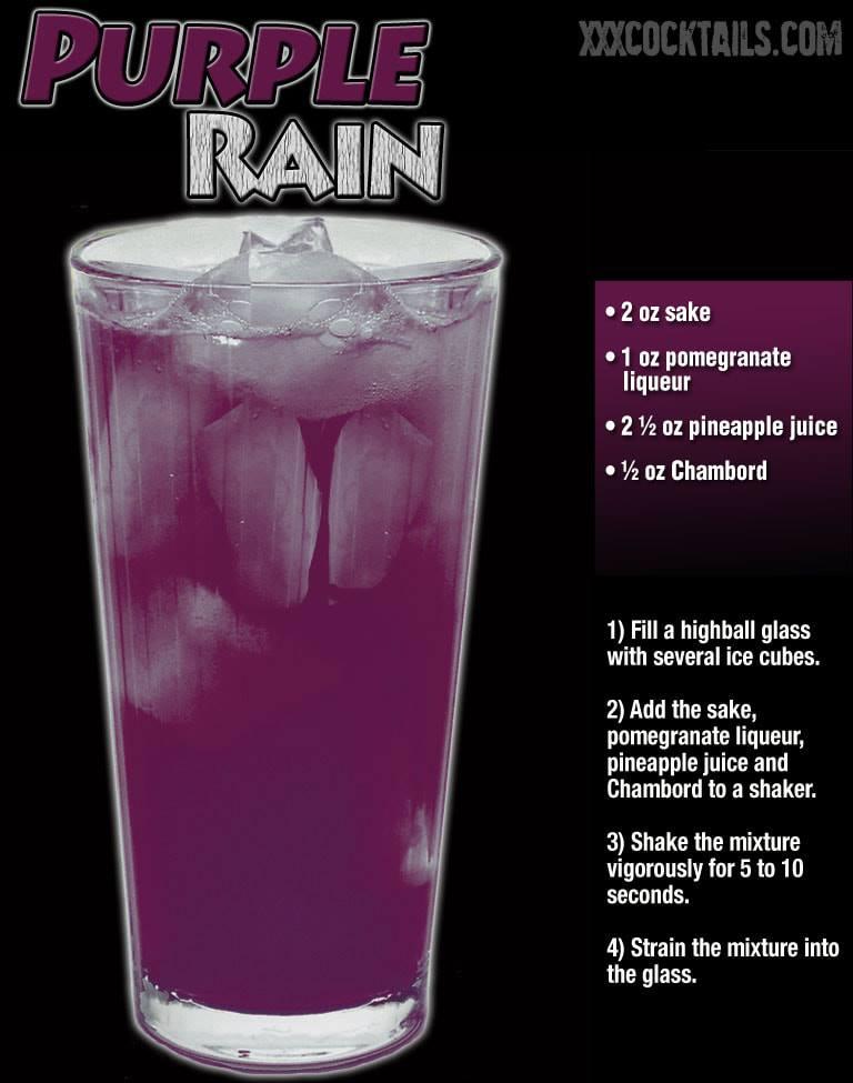 Purple Rain In 2020 Alcohol Drink Recipes Cocktail Drinks Recipes Liquor Drinks