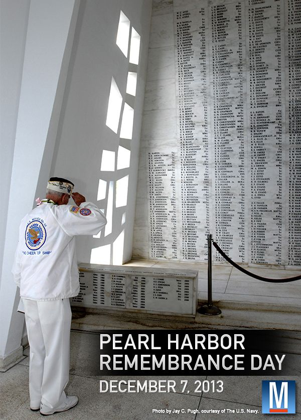 December 7th is Pearl Harbor Day.   History Of Yesterday ...