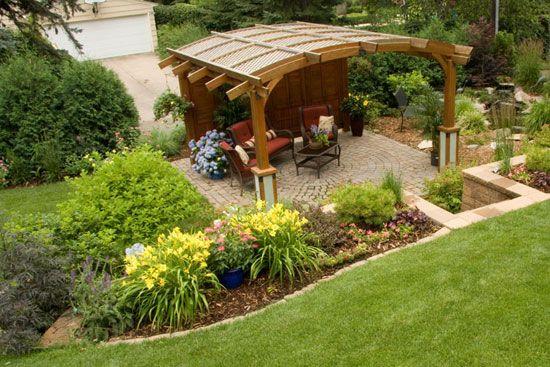 9 ideas de pérgolas para el jardín Pergolas, Gardens and Patios