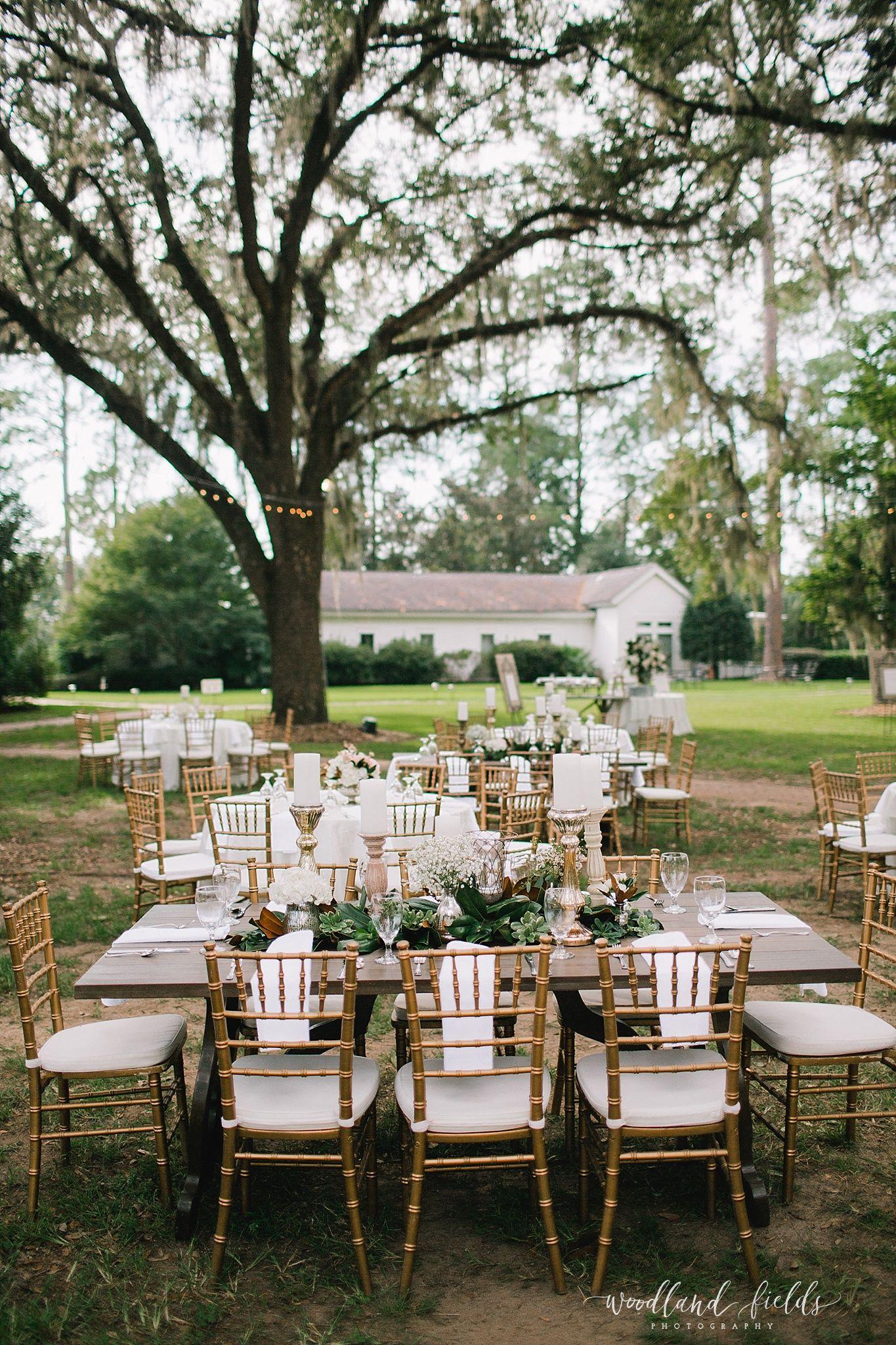 Neutral Wedding Wedding Reception Set Up Seating Family Style