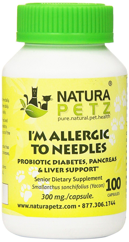 Natura Petz I'm Allergic to Needles Probiotic Diabetes