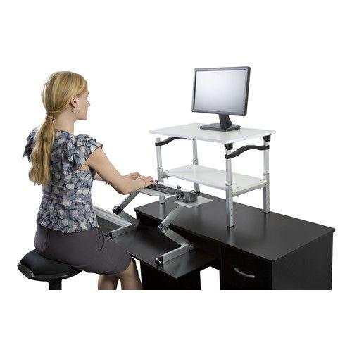 20 H X 26 5 W Standing Desk Conversion Unit Standing Desk