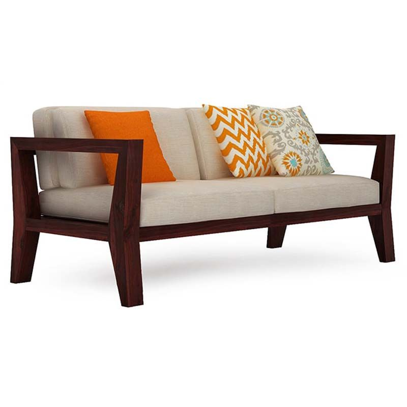 Simplicity Is Beautiful And This Is Proved With This Poise Sofa Set The Simple Design Of This Ensemble Will Make Wooden Sofa Designs Sofa Set Wooden Sofa Set